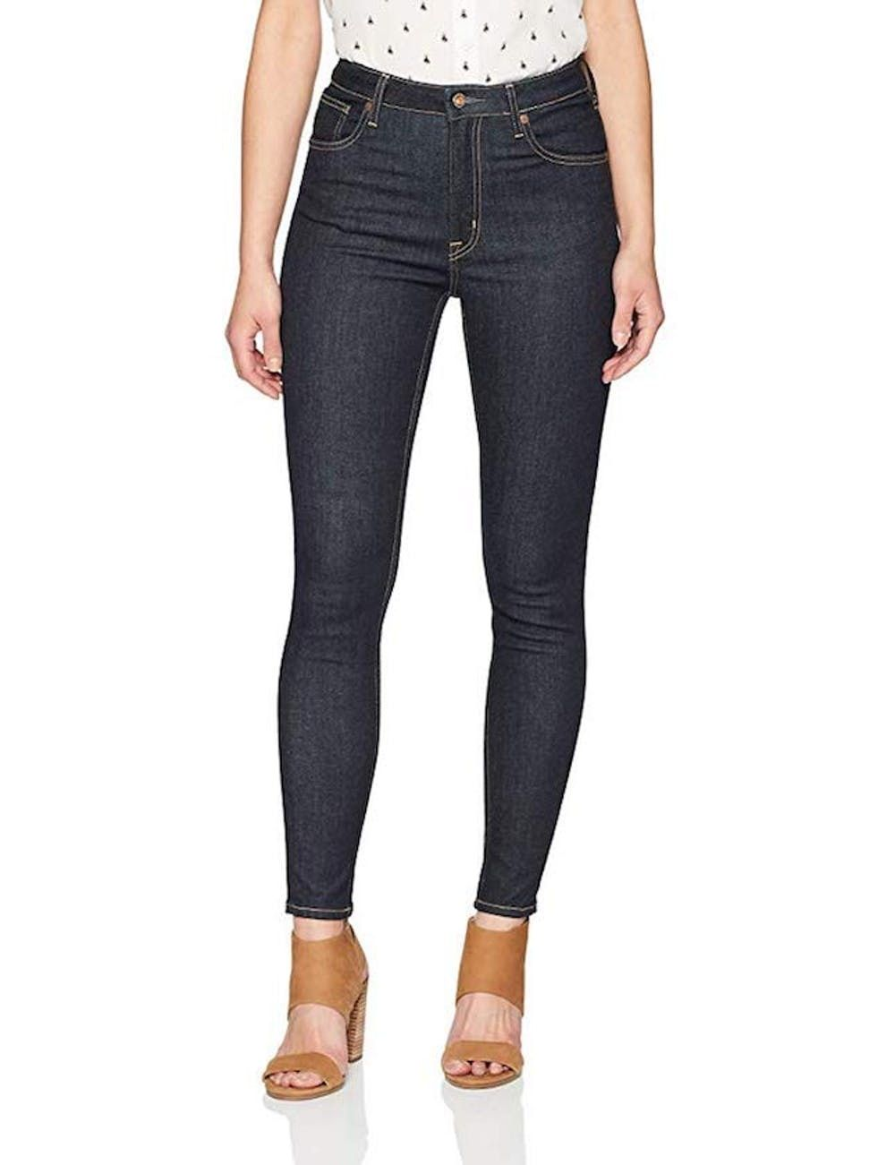 Denim Bloom Womens Low Rise Super Skinny Power Stretch Jeans