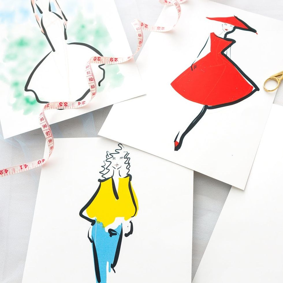 Ready to Sketch Your Fave Fashion Looks in Under an Hour?