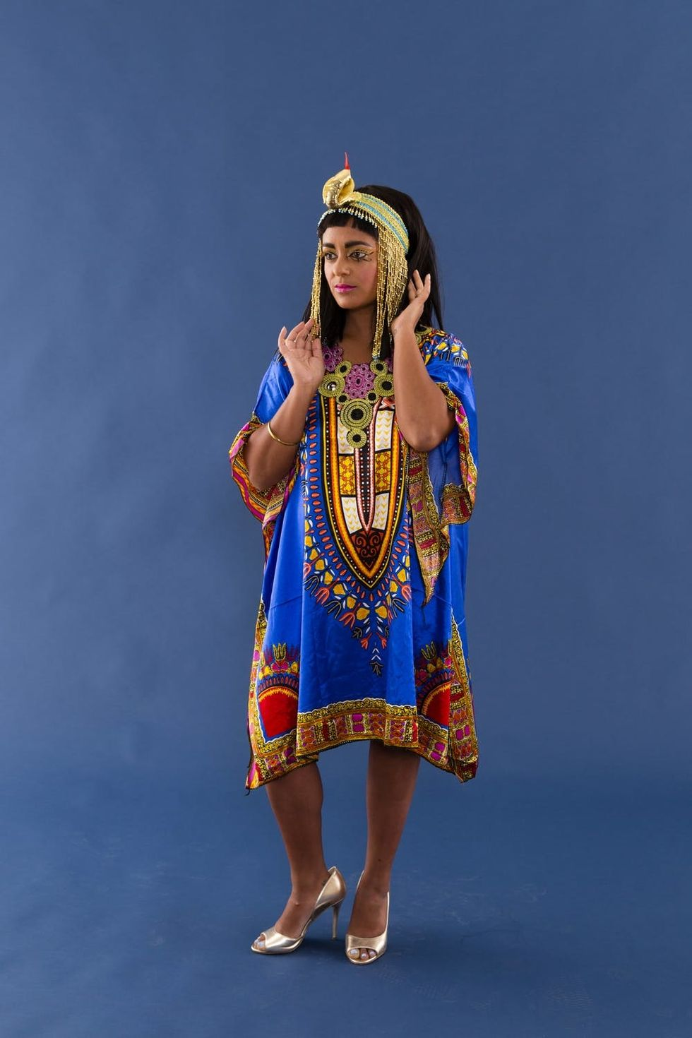 The Perfect Cleopatra Halloween Costume For Intermediate Diy Ers Brit Co