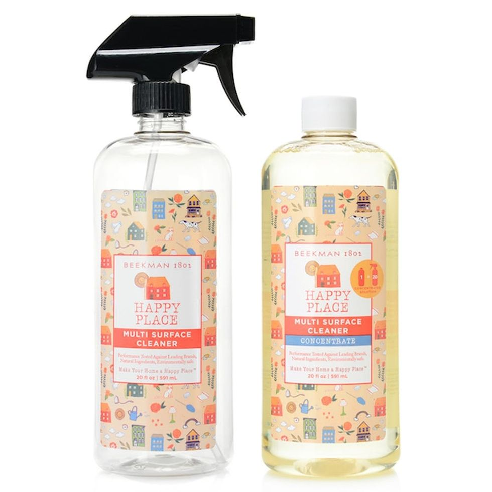 These Natural Cleaning Products Help Make Your Home A Happy Place