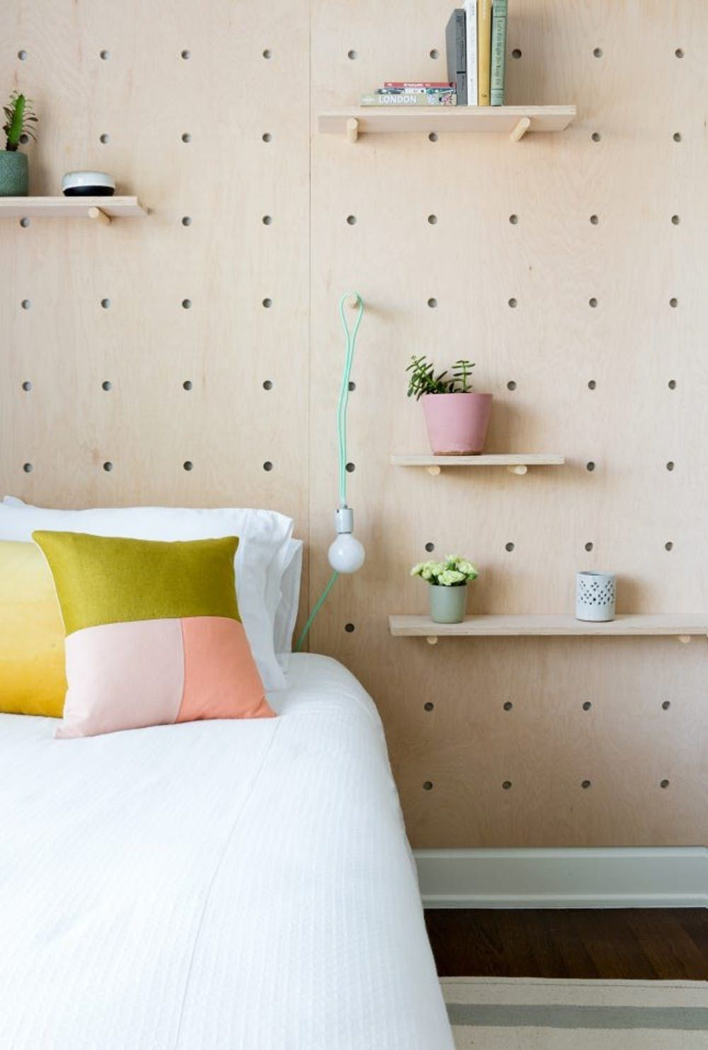 How To Organize Every Room In Your Home With A Pegboard Brit Co