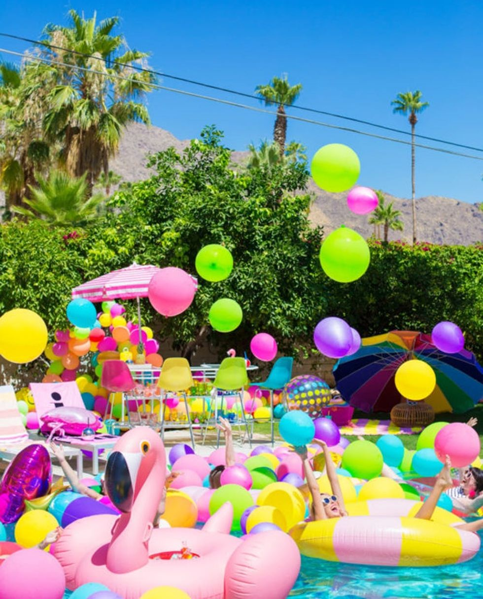 16th Birthday Pool Party Ideas That Will Make a Splash - Brit + Co