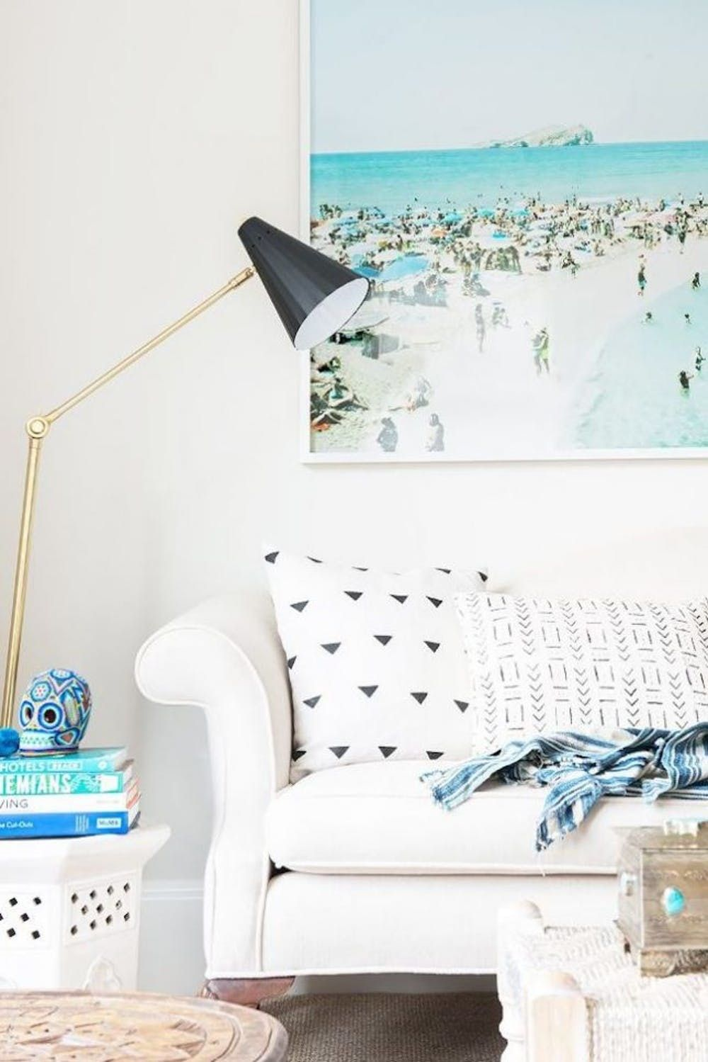 Image of: 12 Tips To Mastering Boho Beachy Home Decor Brit Co