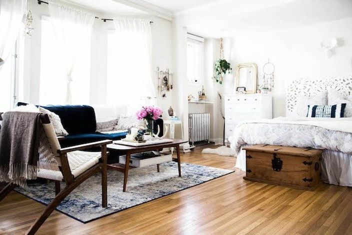 16 Small Space Rugs Ideas That Make A Big Statement Brit Co