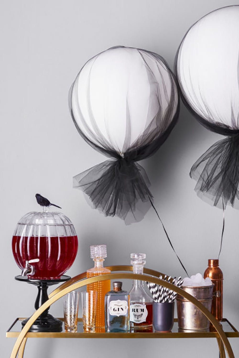 10 Halloween Bar Carts To Get Your Boo S On Brit Co