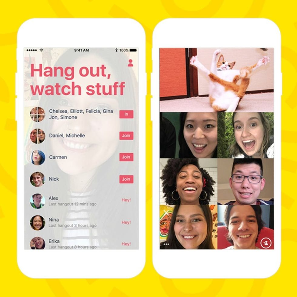 How to Virtually Watch Cat Videos With Your BFFs + 4 More New Apps