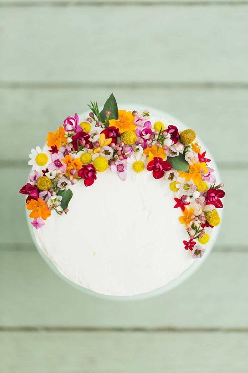 These Edible Flower Wedding Cakes Are Next Level Gorgeous Brit Co