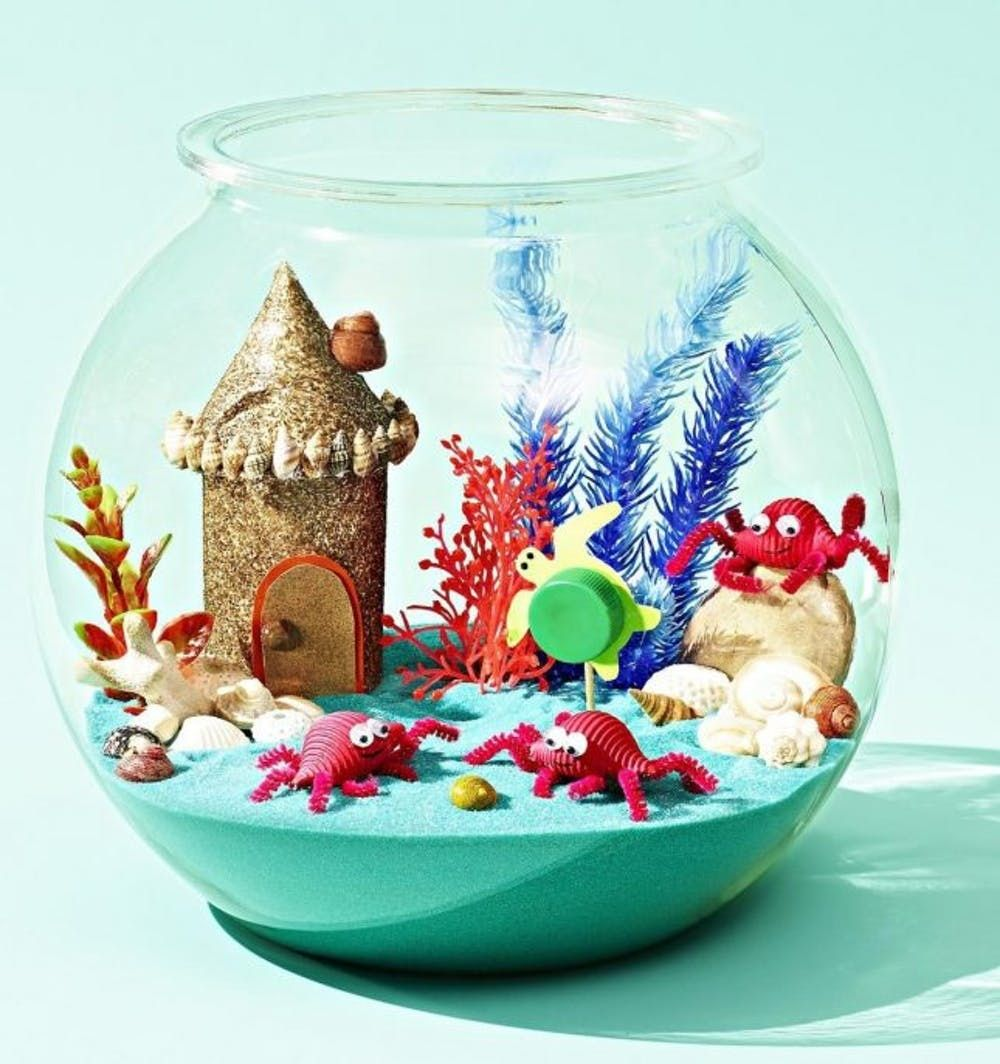 Miniature Mermaid Gardens Are The Coolest Take On Fairy Gardens Brit Co