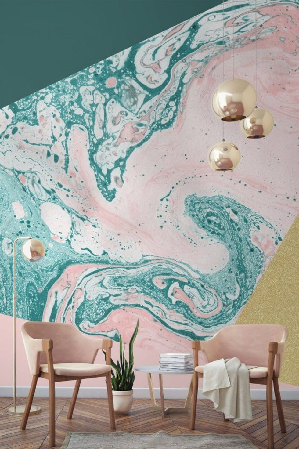 Marble Wallpaper Is The Latest Trend You Ll Want Your Home To Rock