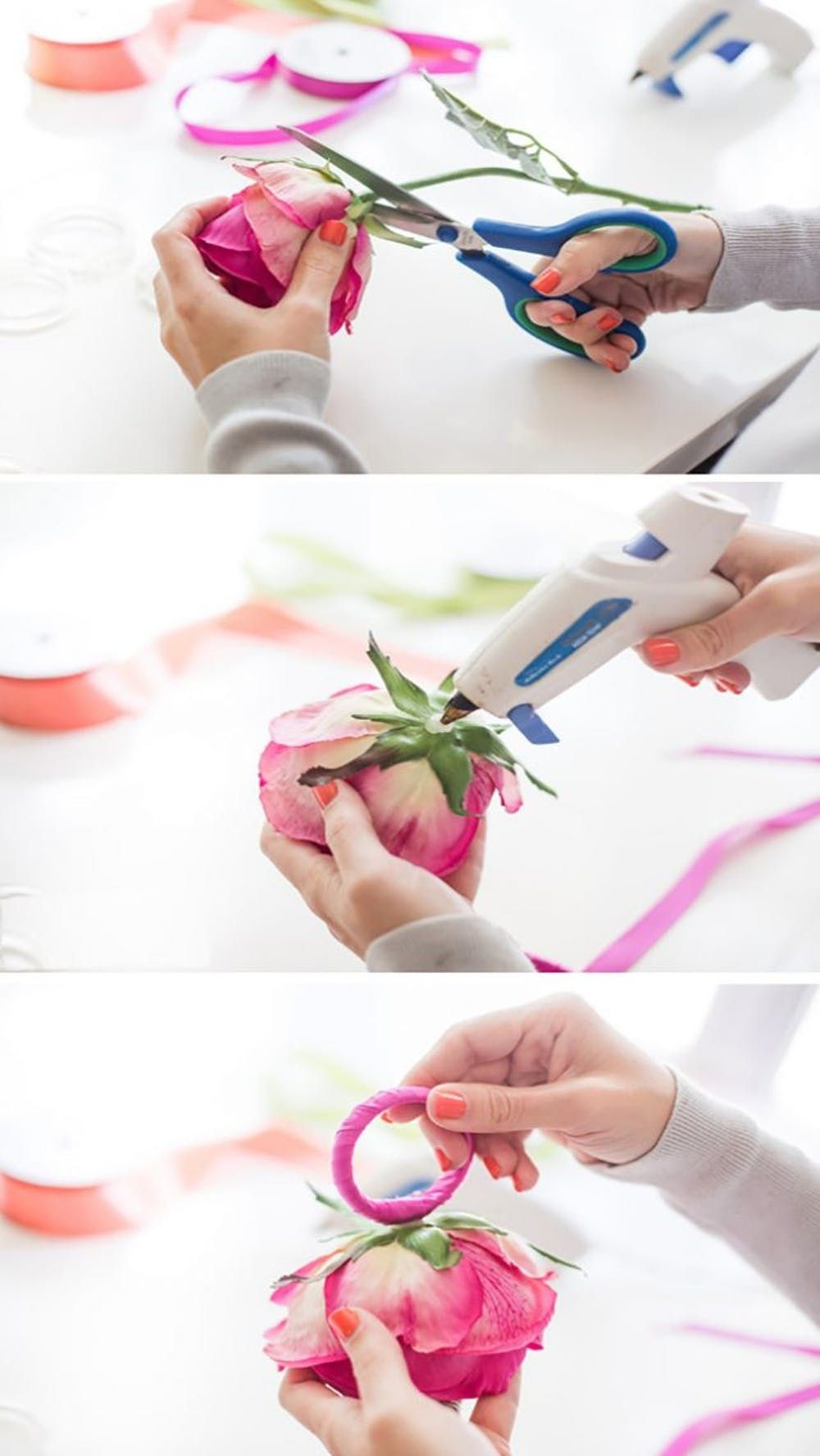 This Napkin Ring Diy Adds A Floral Touch To Spring Parties Brit Co