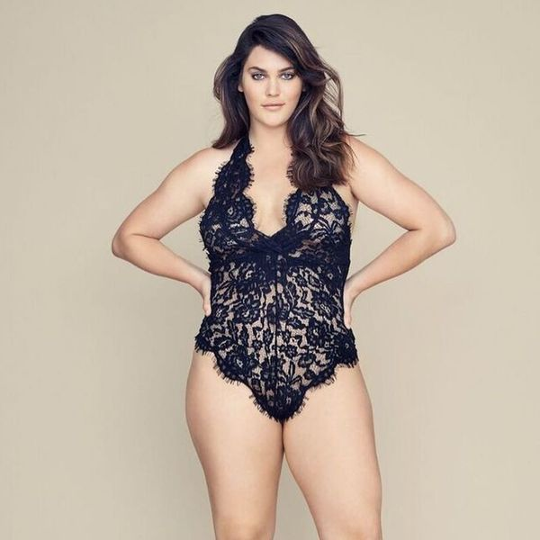 Victoria's Secret Hired Its First Ever Plus Size Model