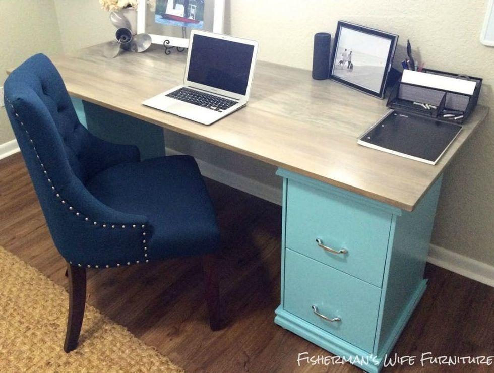 The Ultimate Diy Desk Make It In A Weekend Brit Co
