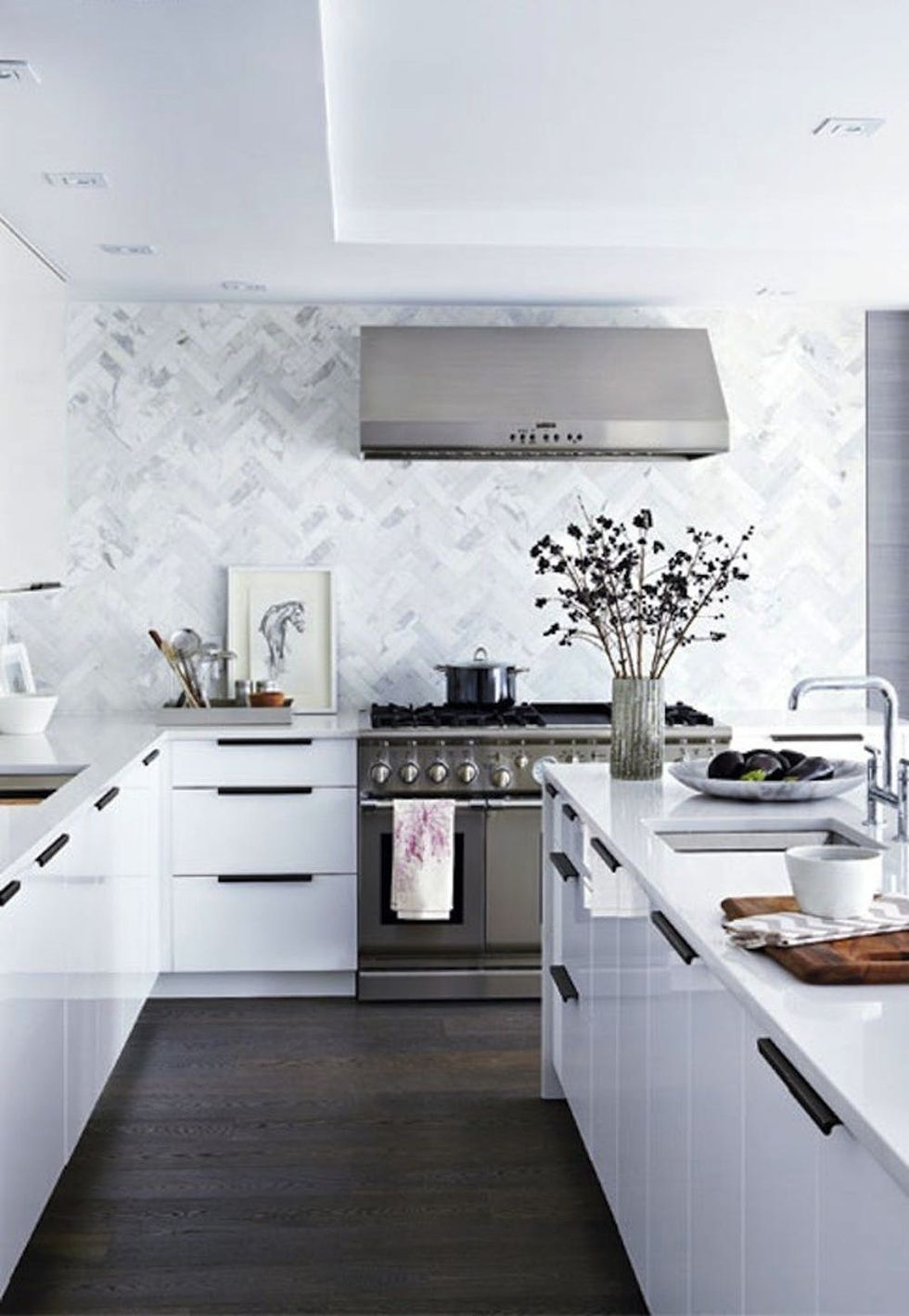 8 Modern + Affordable IKEA Kitchen Makeovers - Brit + Co
