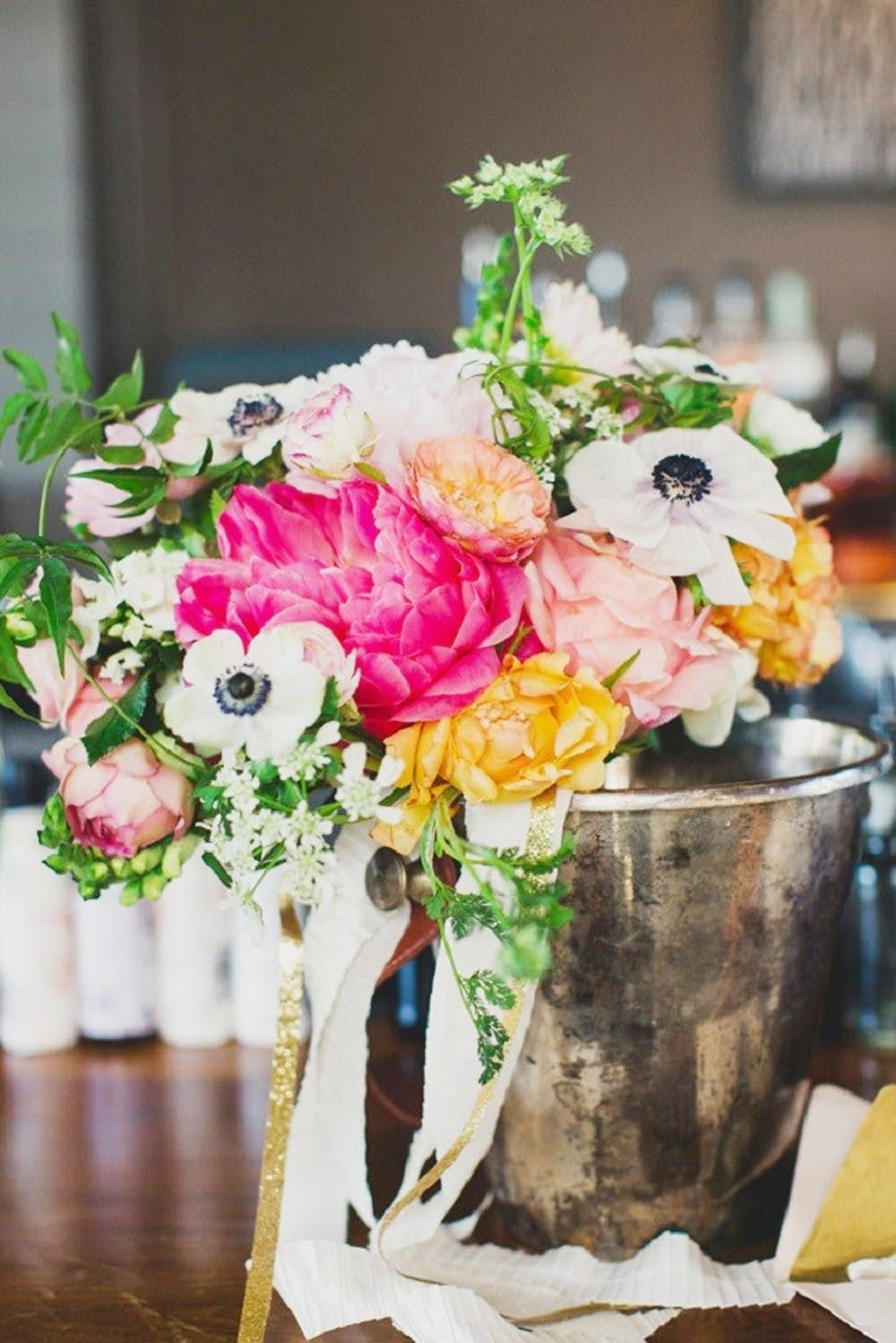 17 Gorgeous Peony Wedding Bouquets For Your Spring Nuptials Brit Co