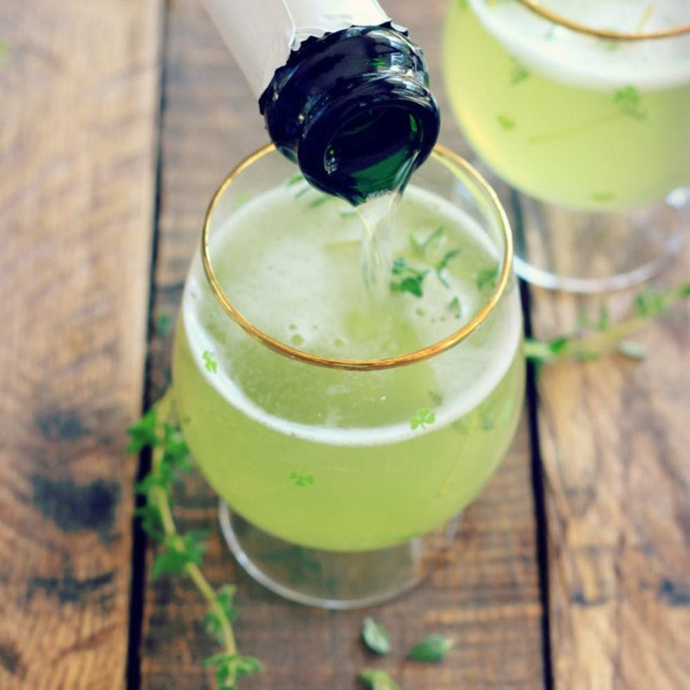 18 Healthy Green Cocktails to Drink at Your St. Patrick's Day Party