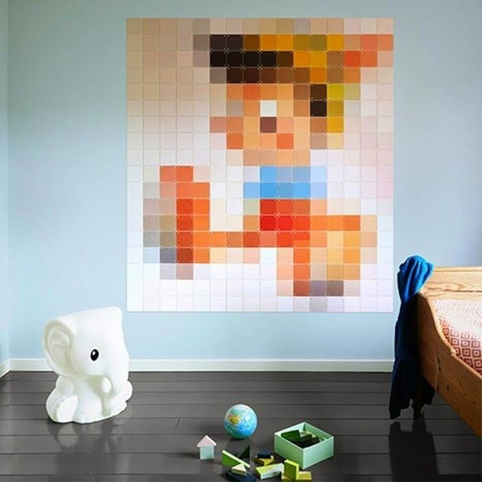 8 Pieces Of Pixelated Artwork To Make Right Now Brit Co