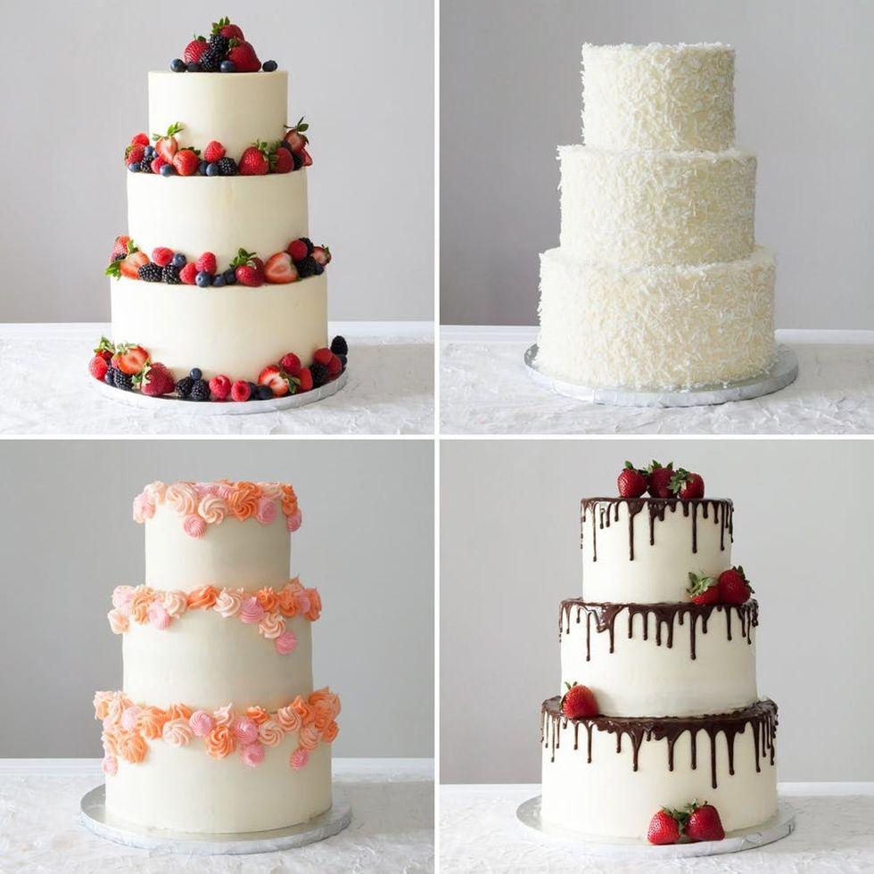 Edible Wafer Paper Rose Kit Diy Wedding Cake Decoration Keepsake