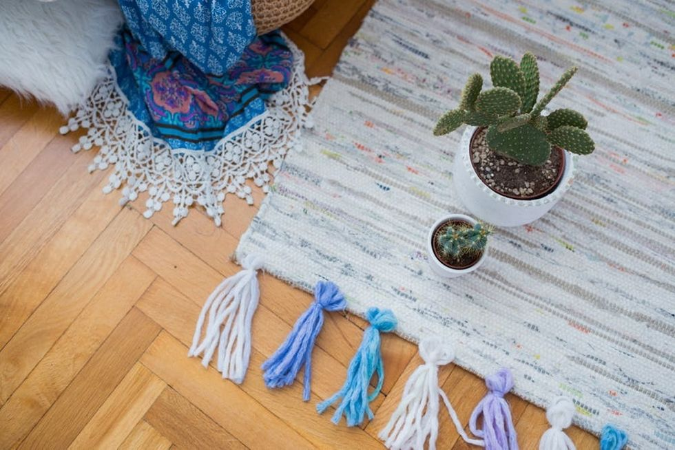 IKEA Rug Hack to Spruce Up Your Bedroom