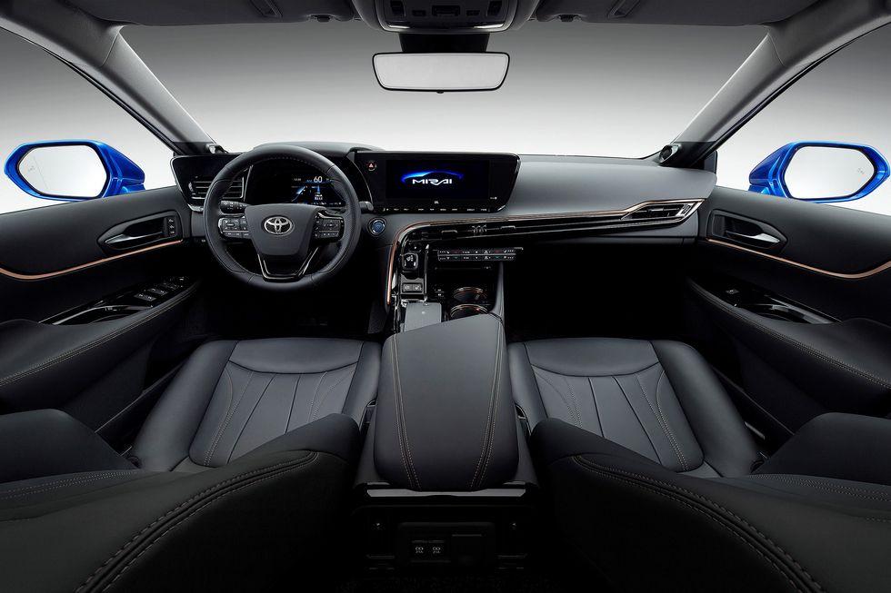 2021 Toyota Mirai interior
