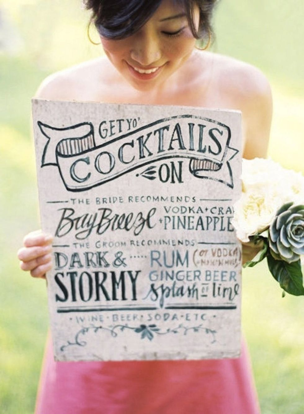 26 Signature Cocktails to Serve at Your Wedding - Brit + Co
