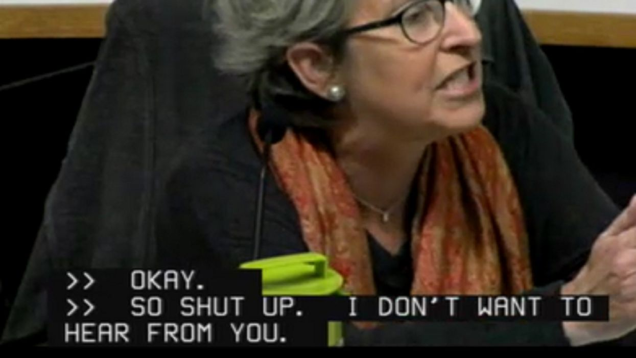 'You stop it, you are a white male!': Unhinged trustee shouts down colleagues for weighing in on town's equity, diversity, and inclusion statement