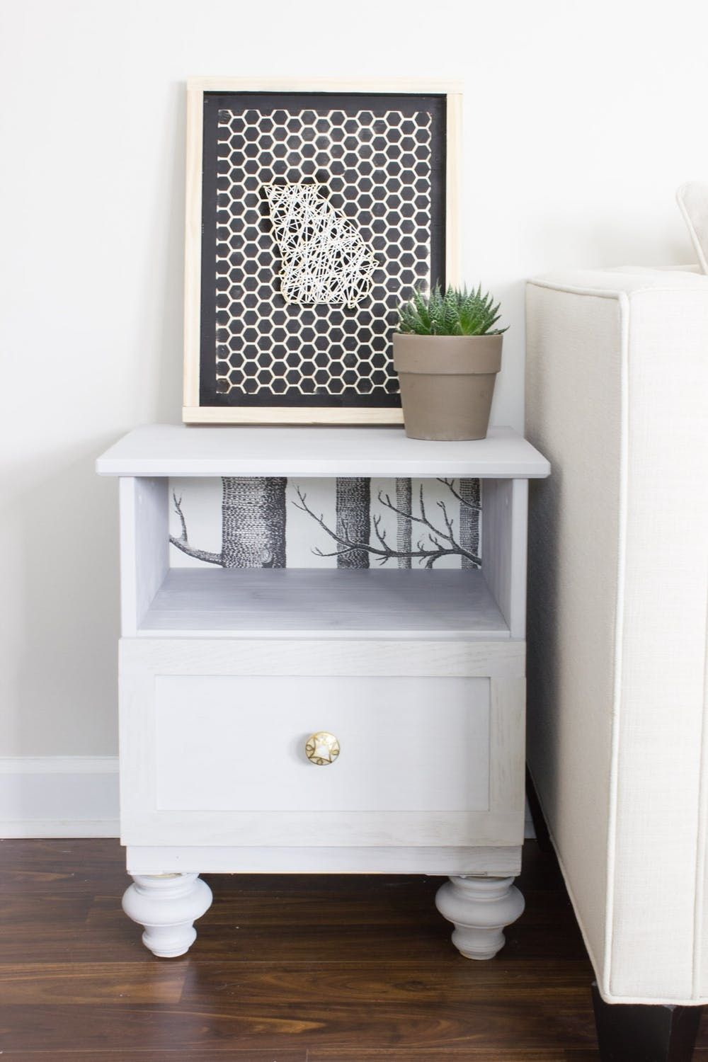 11 Ikea Nightstand Hacks Your Bedroom Needs Brit Co