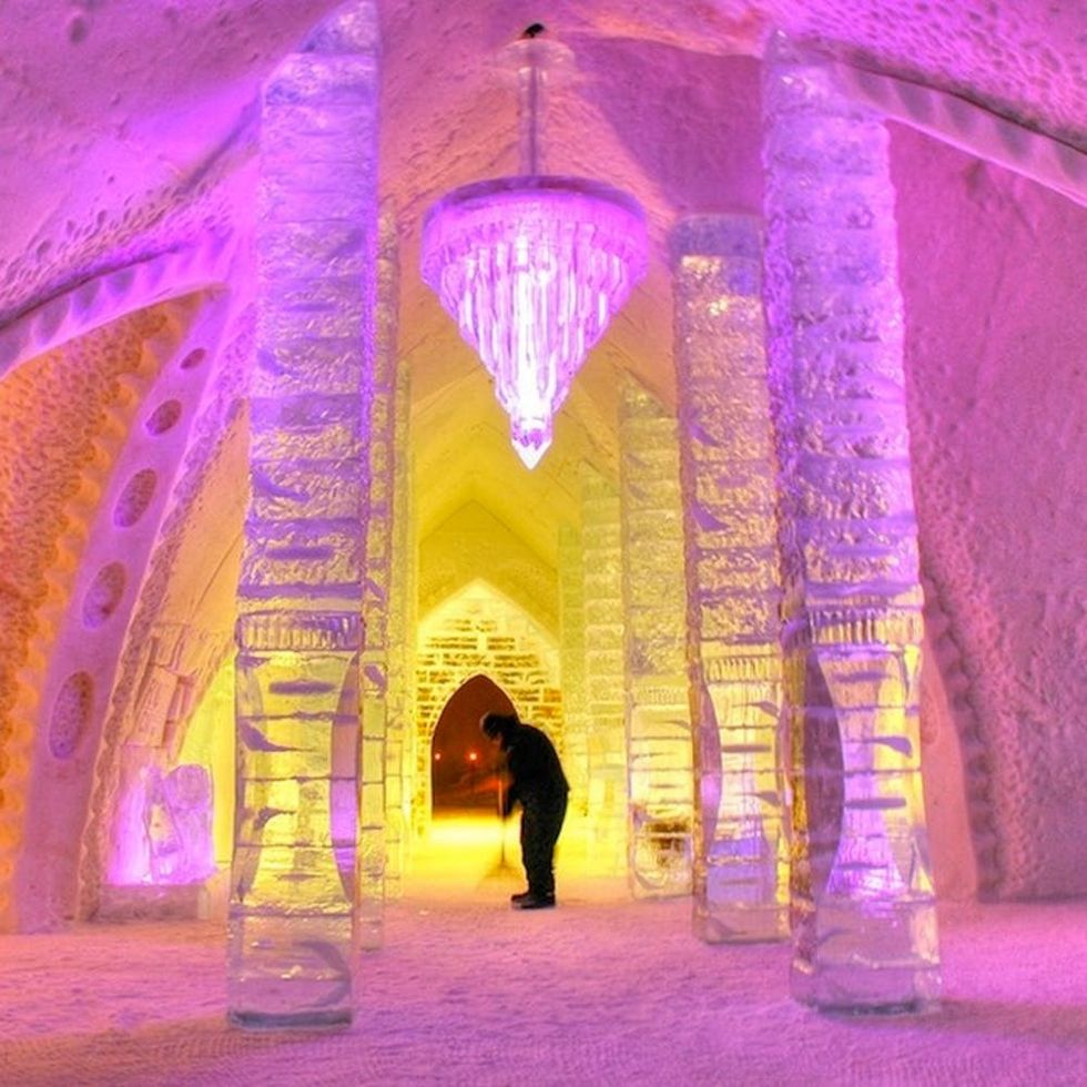 12 Ice Hotels That Will Make You Actually LIKE the Cold