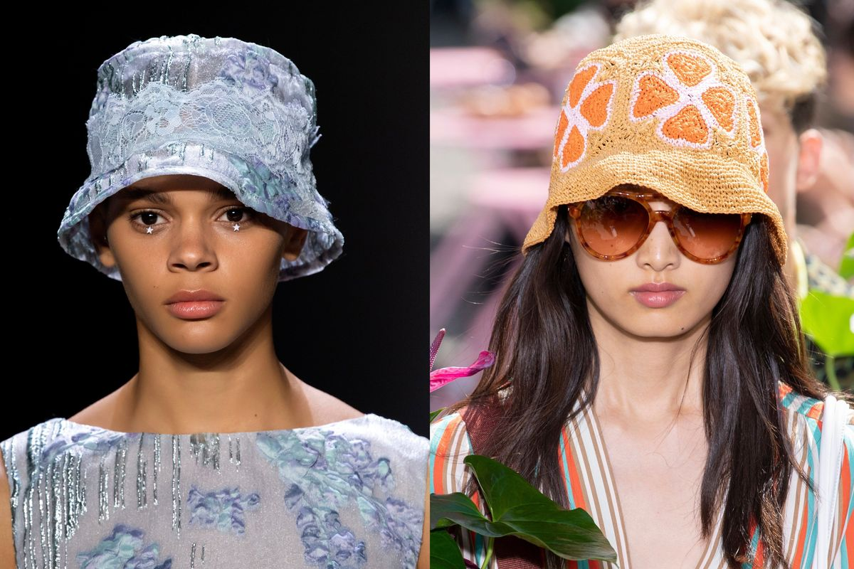 Everyone Will Be Wearing Bucket Hats Next Spring