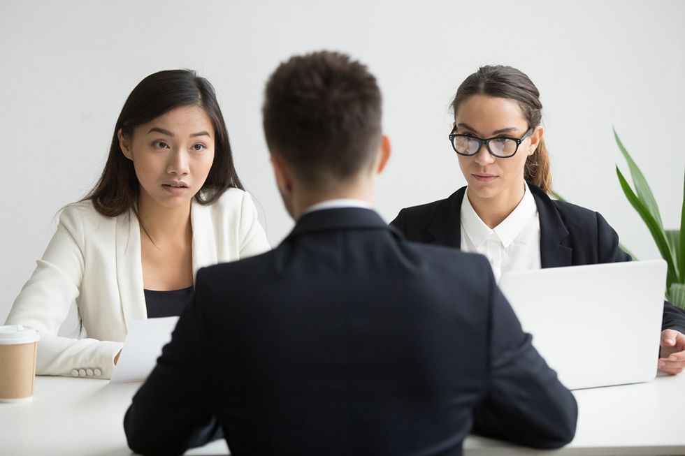 "A job candidate answers the hard interview question, ""Why are you leaving your employer?"""
