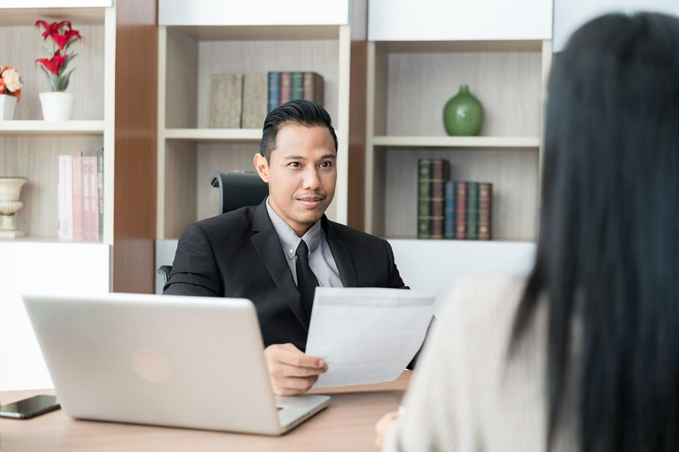 Employer wants to find out where the job candidate sees herself in five years