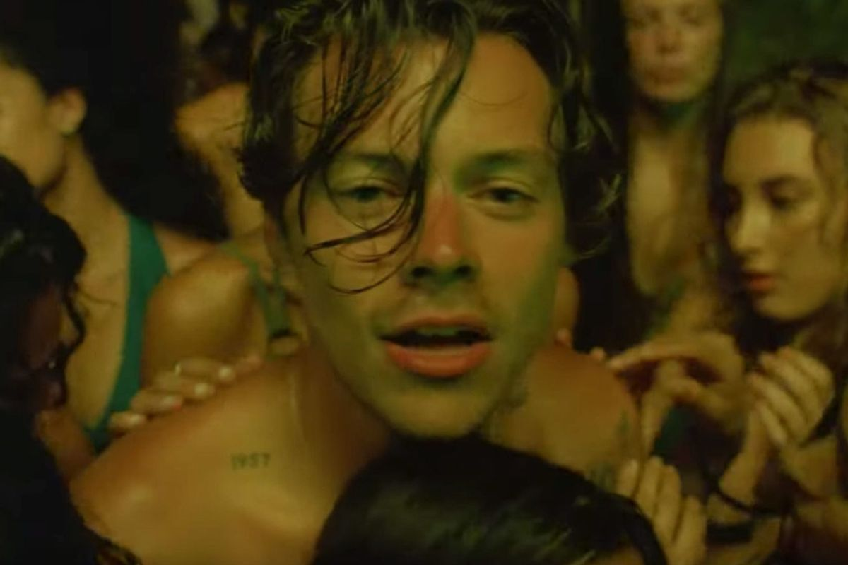 Harry Styles Is Drenched, Tripping and Maybe Coming Out in His New Video