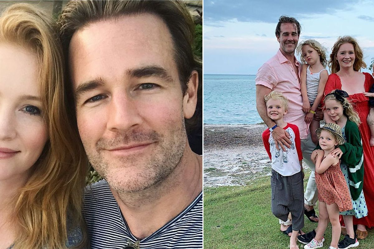 James Van Der Beek's pregnancy announcement casually helps destigmatize miscarriages