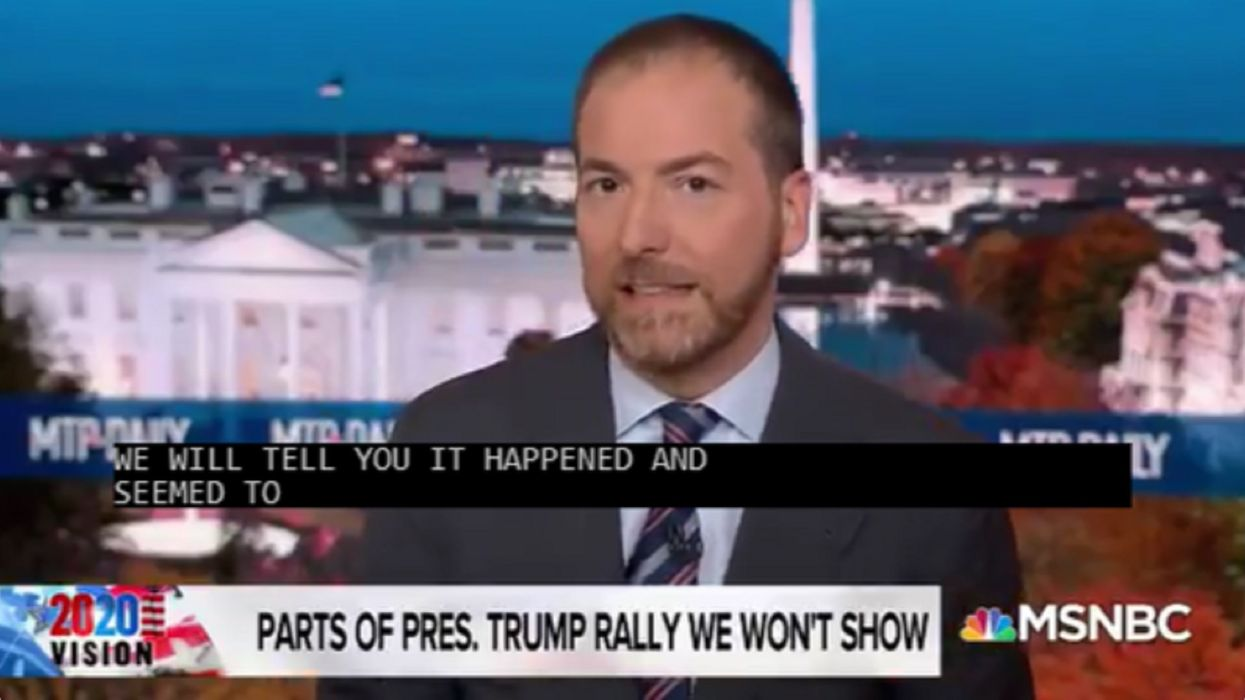 'We cannot in good conscience show it to you': MSNBC refuses to air part of Trump rally where the president criticized Hunter Biden