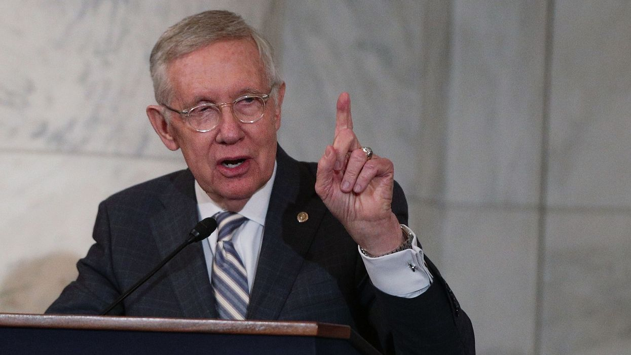 Harry Reid warns 2020 Dems: President Trump is a 'very, very smart man' who will not be easily beaten