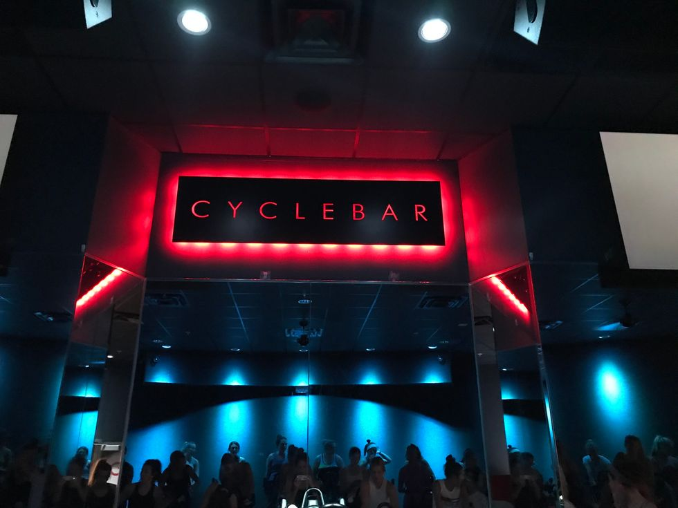 Sweat, Support, and CycleBar: A Workout For Your Body And Mind