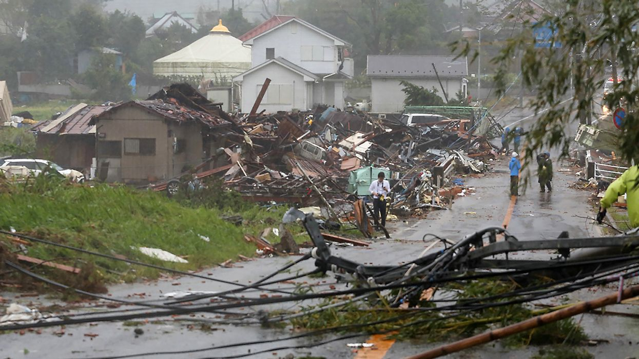 At Least 42 Dead After Japan's Worst Typhoon in Decades