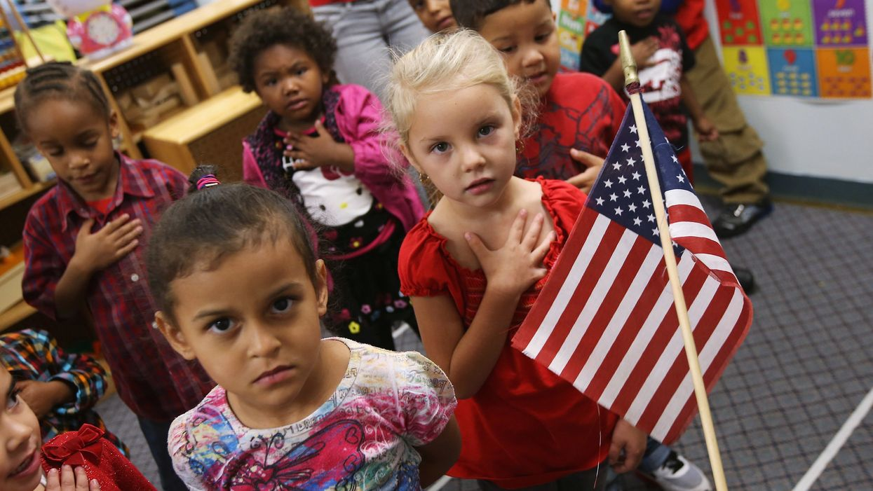 Teacher 'habitually' takes a knee during Pledge of Allegiance. It doesn't go unnoticed: Teachers aren't 'paid to indoctrinate our students'