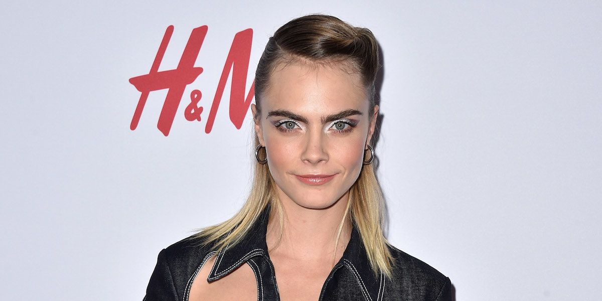We Can't Stop Thinking About Cara Delevingne's Holey Jumpsuit
