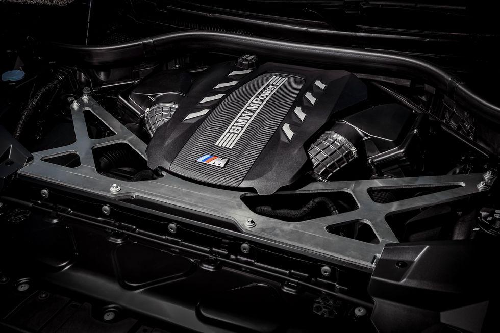 2020 BMW X5 M 2020 BMW X6 M engine
