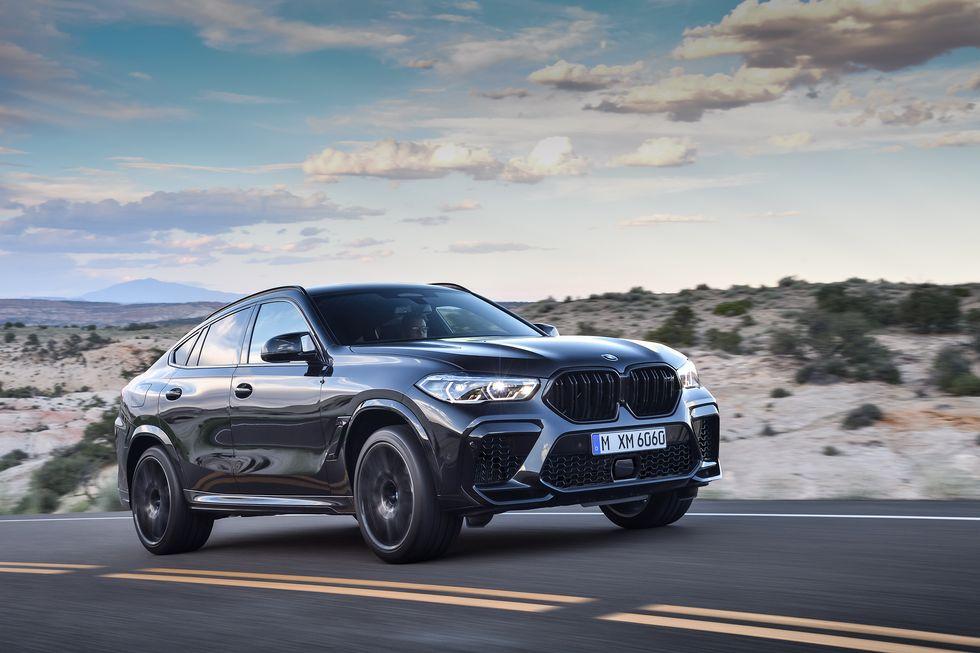 2020 BMW X6 M exterior front face