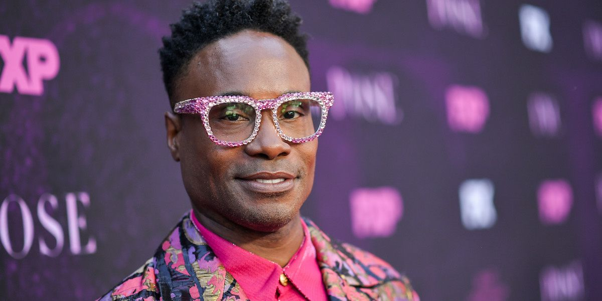 Billy Porter Is Officially Your New Fairy Godmother