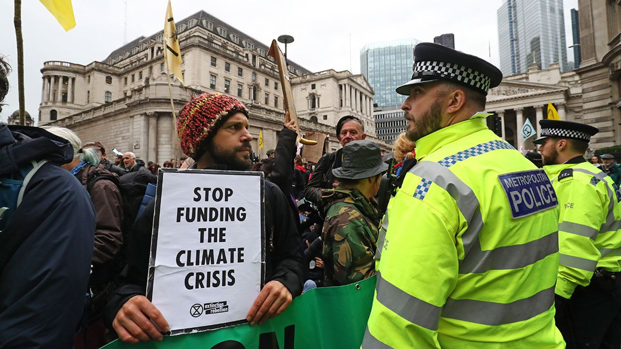 Extinction Rebellion Banned in London