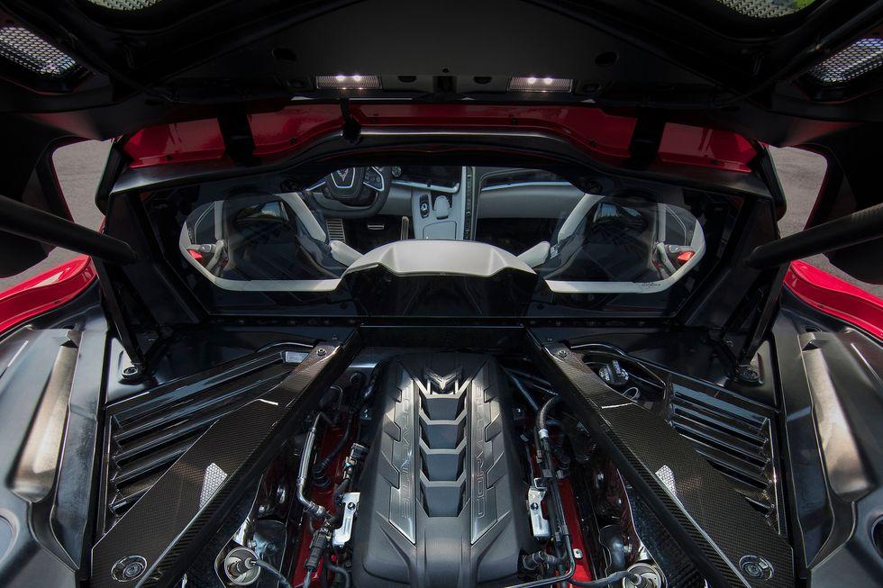 2020 Chevrolet Corvette engine