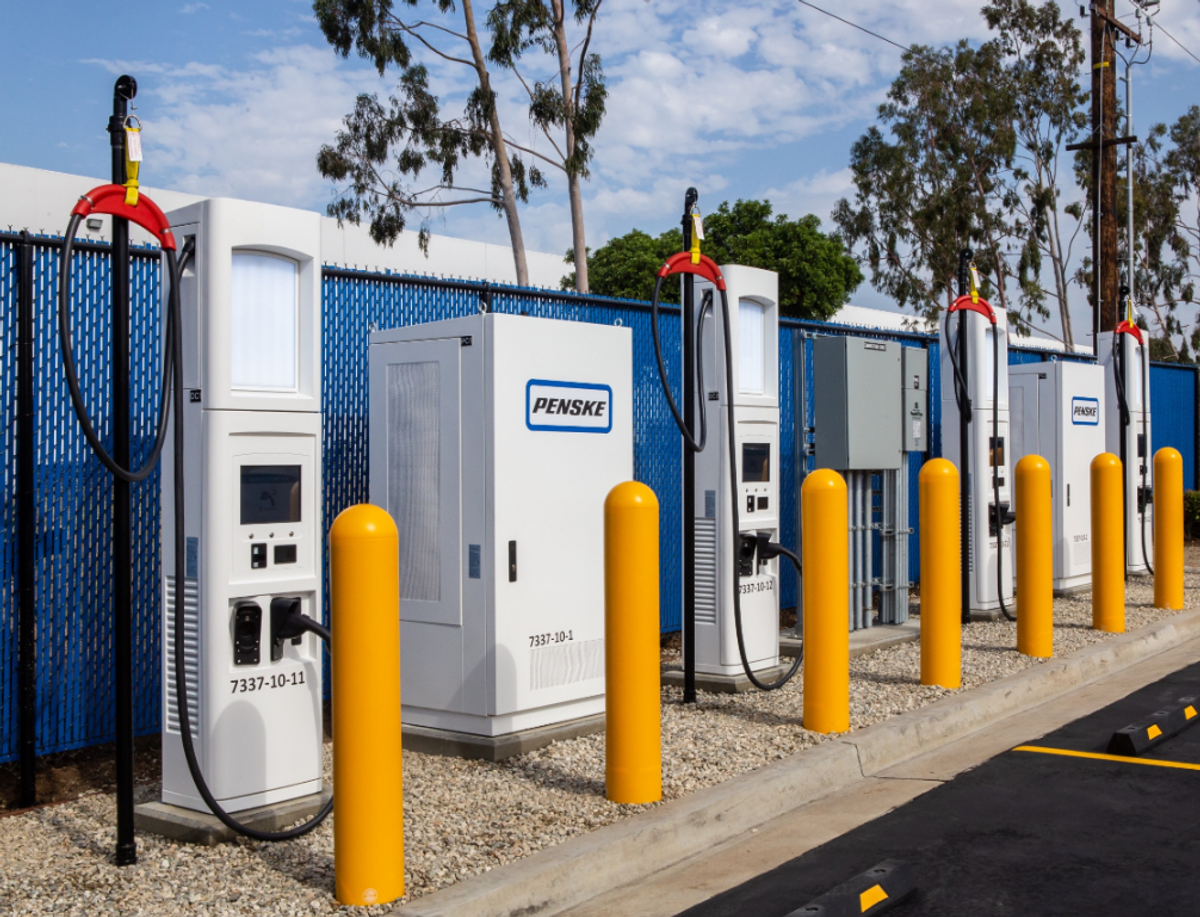 Penske Participates in Commercial Electric Vehicle Charging Panel
