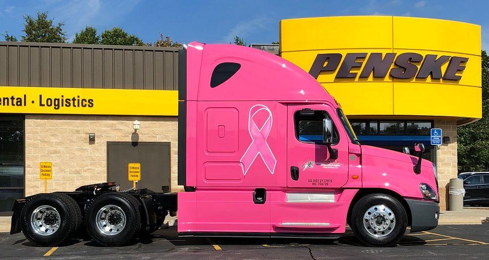 Pink Sleeper Drives Breast Cancer Awareness