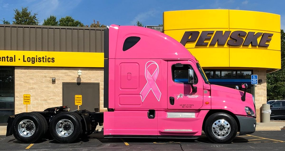 Pink Sleeper Drives Breast Cancer Awareness