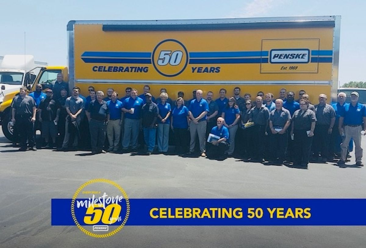 Penske Celebrates Golden Anniversary and Looks to the Future