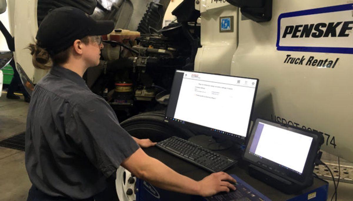 Penske Technician Finds Joy in Her Rewarding Career