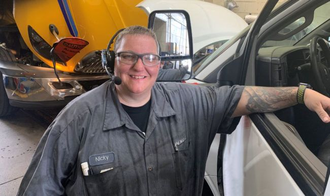 Technician Experiences Great Career Growth at Penske