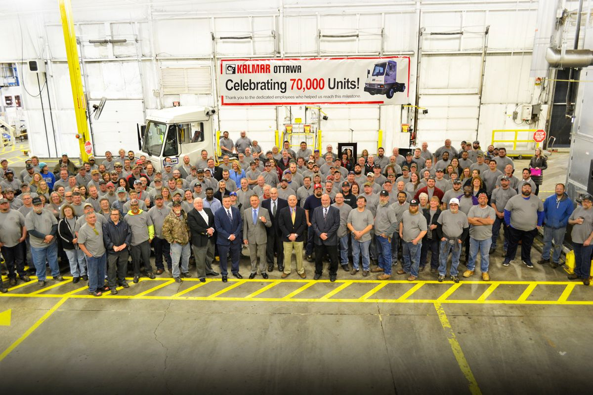 Kalmar's 70,000th Ottawa Terminal Tractor Destined for Penske Truck Leasing